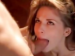 Flexible babe stretched with cock
