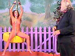 Young babe fucking in BDSM