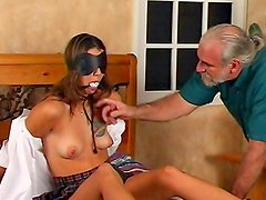 Young beauty in nasty BDSM scene