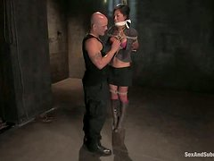 Some painful session for a delightful Asian siren Tia Ling