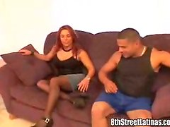 Delightful Laitna Zina is giving her twat to her man