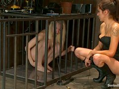 Ashley Jane and Princess Donna Dolore Dominated in Femdom Bondage Vid