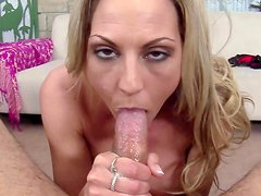 Alluring milf pleases in POV