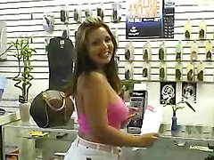 Insanely hot Latina with tan lines fucks like nuts