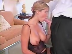Whore milf pounded by bbc short clip