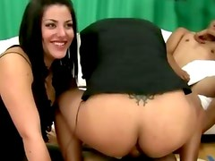 Amateur cfnm slut gets a fucking from behind
