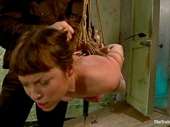 Poor Seda gets toyed and spanked painfully in BDSM vid