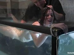 Isobel Wren gets tied up and tormented in an underground