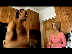 Anal Interracial Pounding for Short-Haired Bitch Leah Luv by a BBC