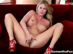 Valentines Day Fun with Sexy Samantha Saint