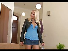 Amazing rough sex with the beautiful blonde Stacy Silver