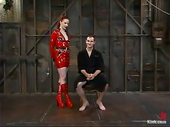Femdom and Bondage with Pegging and Torture by Claire Adams