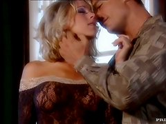 Gentle Katie Morgan is having sex with her eyes closed