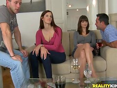 House Party Turns Sex Party With Horny Babes