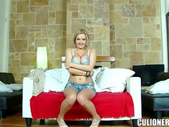 Candy Alexa gets fucked doggy style after giving a titjob