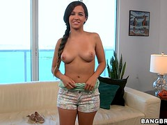 Desirable Latina loves being on top of her fucker