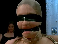 Big Breasted Nika Noire Gets Tied Up and Fucked in Wild BDSM Party