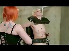 Lesbian Daughter Spanked Until She Squirts