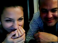 Guy with 2 hot girls (Chatroulette)