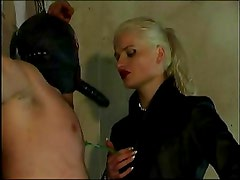 German Dominatrix Strapon