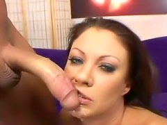 Big cock in a foxy slut for a load