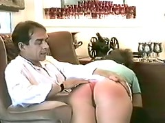 Watch fat ass get a caning