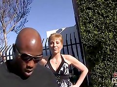Granny Gemma ass fucked by black guy