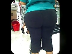 BBW Check OutLine Booty