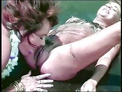 Homemade - Blonde on Brunette beach sex - and ORGASMS!