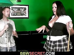 Married guy licks her fat hole