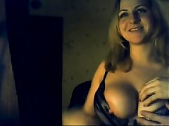 Russian Alisa and Alexander first time webcam sex