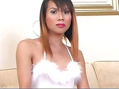 Asian T-Girl Body Massage Scene 2b