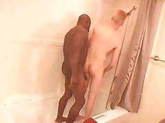 MJ - Sweet white twink and big black daddy