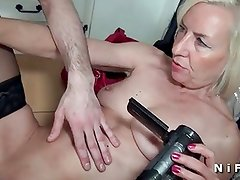 French mature sextape doing a young man