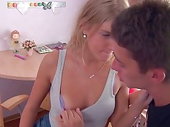 Young Blonde Anal Starter