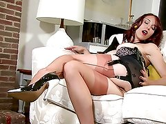 Jessica Pressley Open bottom girdle gal!
