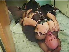 midget fucked in bathroom