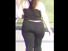 Rican BBw Thick Spandex Ass Booty