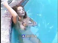 Aurora Looking Fine In The Pool