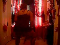 Thick Twerker With Beautiful, Broad Back