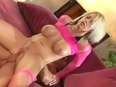 See busty blonde fucked in the cunt