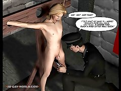 GAY BDSM NIGHTMARE! 3D Gay Cartoons Anime Comics Bondage