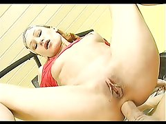ANAL WORKOUT FOR A SKINNY REDHEAD