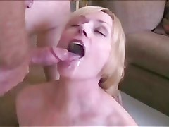 Mature and boy roleplay fuck and facial