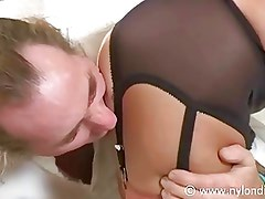 Nylon Ass Licking