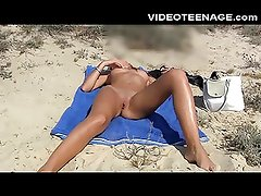 lovely teen nude at beach