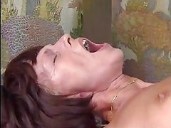 HOT MOM n137 brunette anal german mature milf and a man