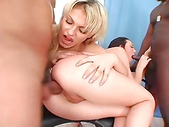 Russian Girls anal action 2