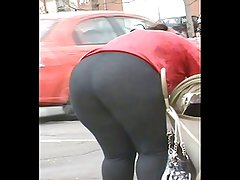 BBw Rican Booty Culo Ass(Bus Stop)