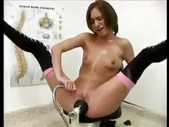 Fucking HerSelf and Squirting